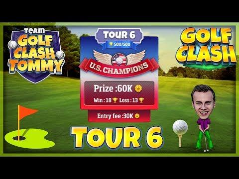 Golf Clash tips, Hole 9 - Par 5, Easter Links tournament - ROOKIE, GUIDE/TUTORIAL
