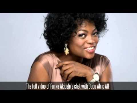 The full video of Funke Akidele's chat with Dudu Afric AH