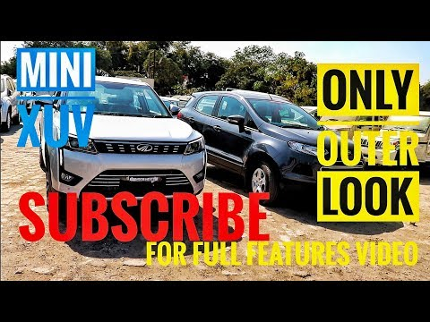 Xuv300- Outer comparison with ecosport and fist in segment features