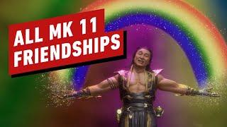 All Mortal Kombat 11 Friendships (Aftermath)
