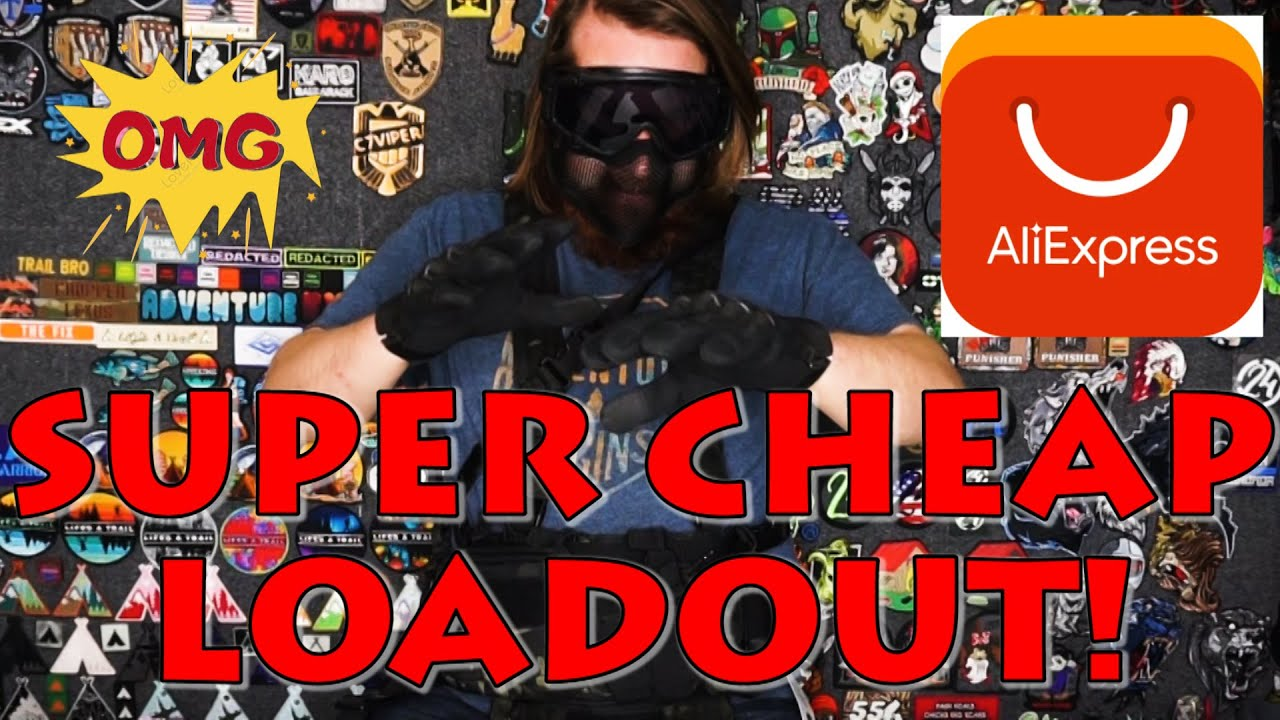 Unboxing and Using A Full Airsoft Loadout From AliExpress! (Gear Review AND Gameplay!)