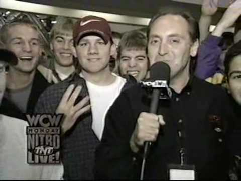 WCW Nitro - Mike Teney interviews 14 yr old Shawn Daivari