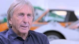 Derek Bell talks about the Porsche 917