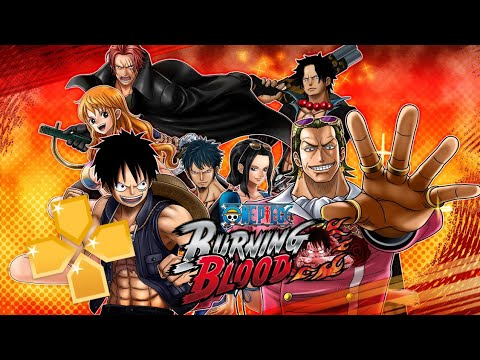DOWNLOAD One Piece BURNING BLOOD Mod Romance Dawn PPSSPP ISO Android Offline