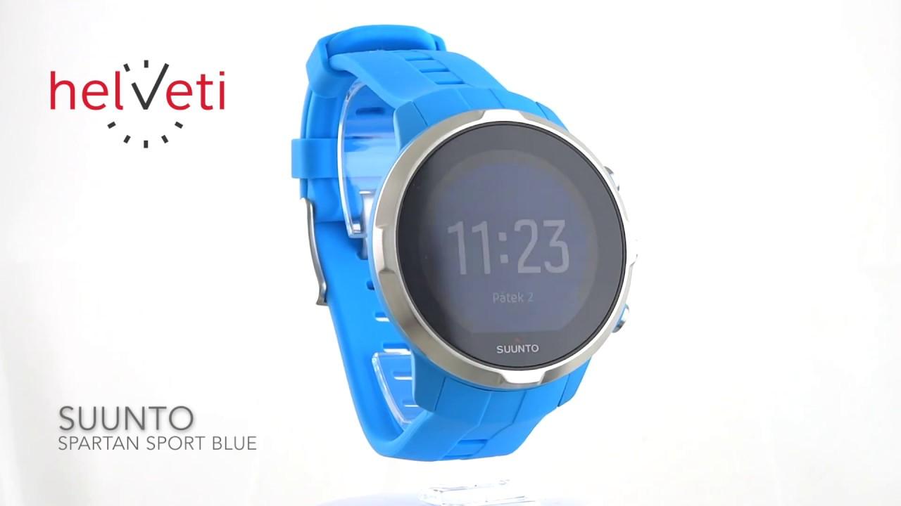 3167ea437 Suunto Spartan Sport Blue - YouTube