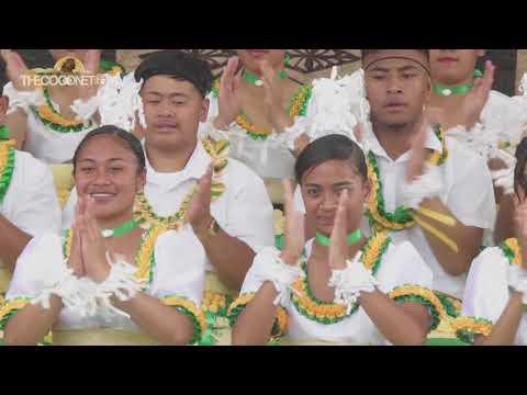 Polyfest 2018 - Tonga Stage:  Manurewa High School Ma'ulu'ulu
