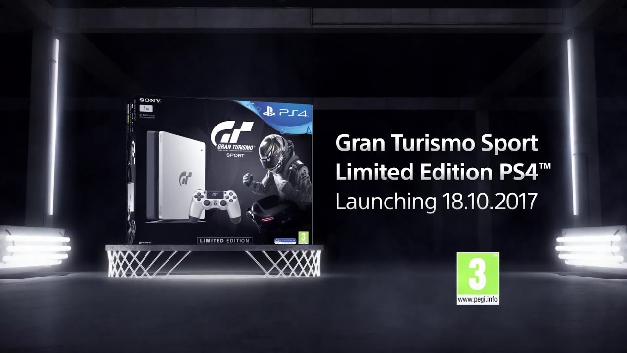 gran turismo sport limited ps4 1tb edition console announcement youtube. Black Bedroom Furniture Sets. Home Design Ideas