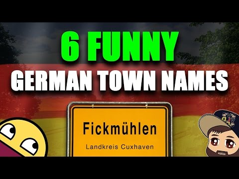 The 6 Most Ridiculous & Funny German Town Names Ever! 🏢   VlogDave