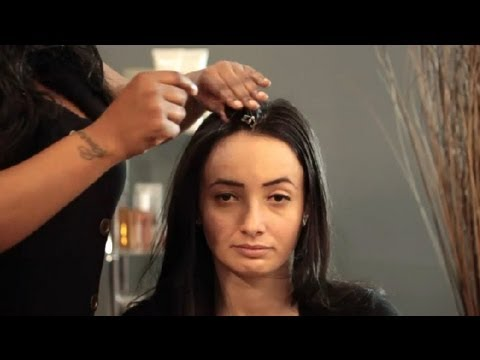 youtube how to style long hair how to put hair in overnight curlers hair styling 8750 | hqdefault