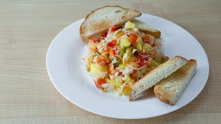 Очень вкусный салат без майонеза за 10 минут