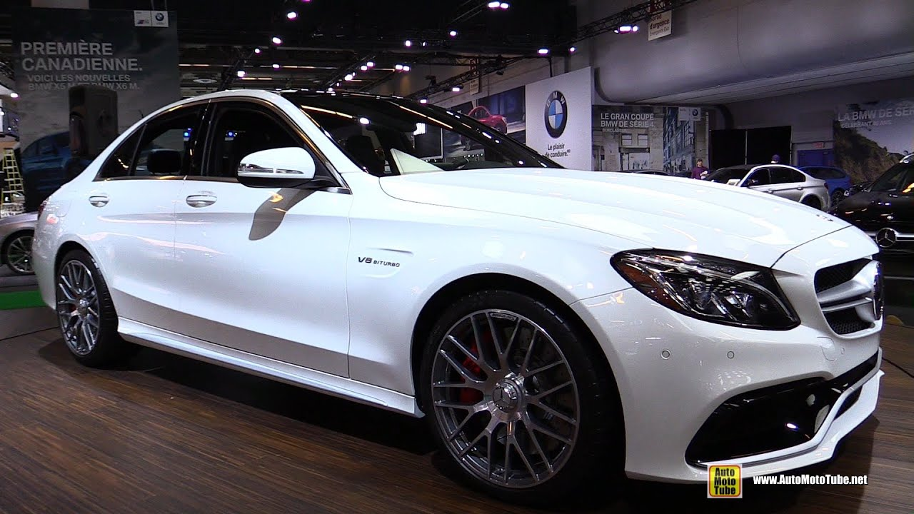 2015 mercedes benz c class c63 amg exterior and interior walkaround 2015 montreal auto show youtube
