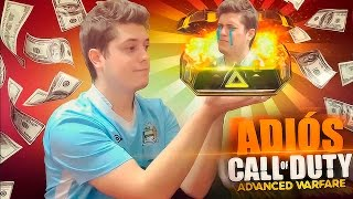 ¡ADIOS ADVANCED WARFARE! - ¡OPINION, ESTADISTICAS Y ARSENAL!