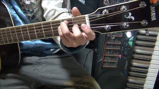 真心ブラザーズさんの曲を歌ってみました。 ギター初心者です。