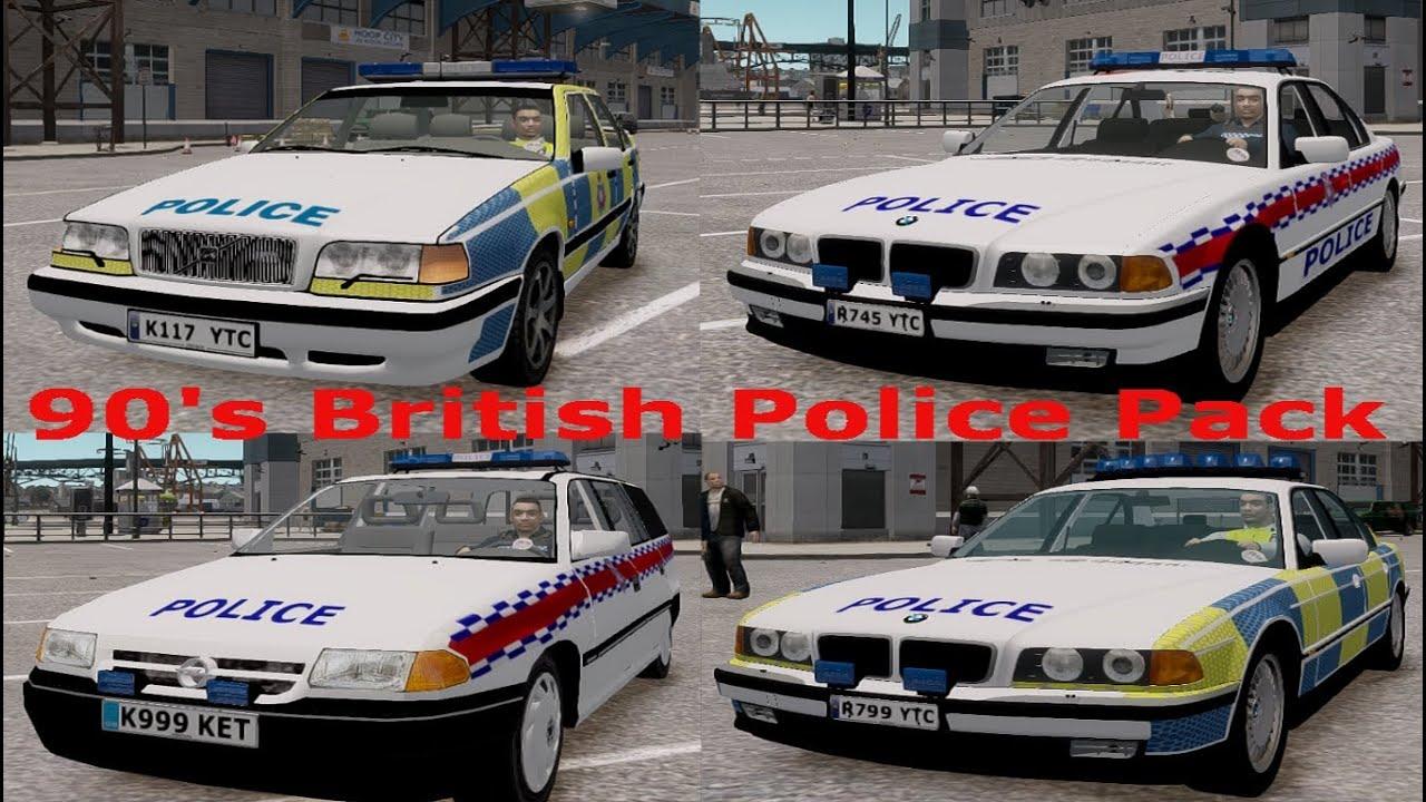 Gta 4 british police pack