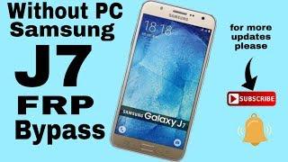Samsung J7 google account bypass,Sm-J700f ,talkback method,1000% easy tricks