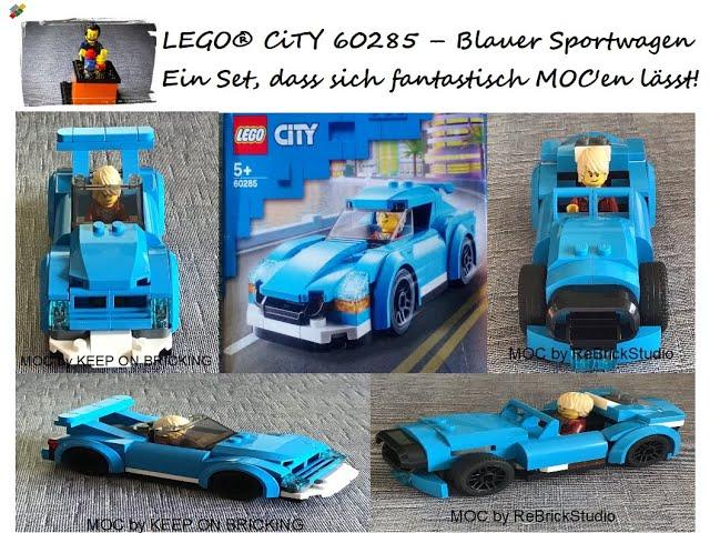 Fantastisches Set um kreative MOC's zu erstellen! LEGO® CiTY 60285 - ein toller, kleiner Sportwagen!