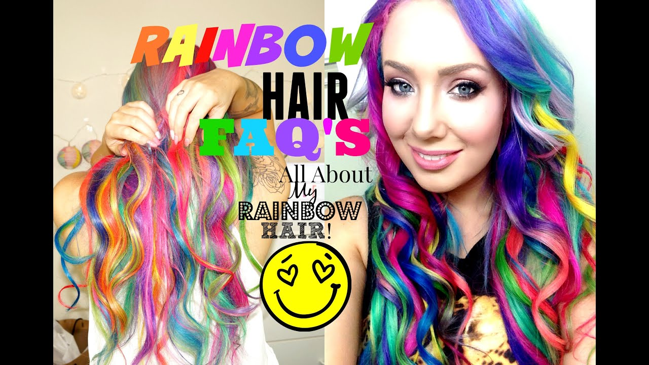 How Soon After Washing Hair Can You Color It Part - 18: HOW TO- WASH Rainbow Hair?!! WITHOUT BLEEDING! - YouTube