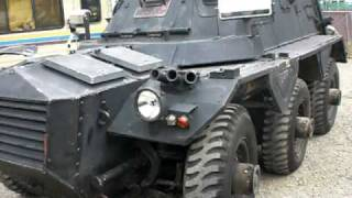 saracen armoured car