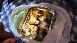 Индия Блог 10. Лучшая уличная еда в Индии в Дели, пробуем жаренный сыр панир.