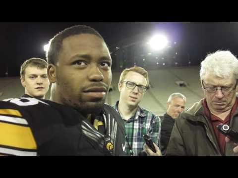 Iowa spring game -- RB Akrum Wadley