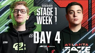 Call Of Duty League 2021 Season | Opening Weekend Hosted by Atlanta FaZe | Day 4