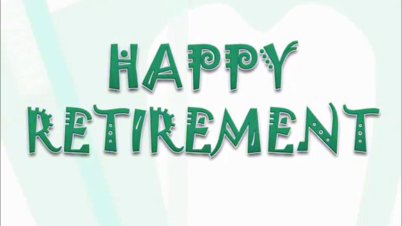 Happy Retirement Animationwhatsapp Status Videowishesgreetings