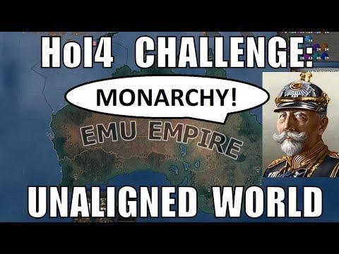 Hearts Of Iron 4 Challenge: Wilhelm II And Unaligned World
