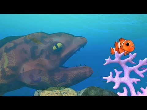 The Crazy Invisible Fish Thing! - Feed and Grow Fish Gameplay