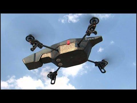 O AR.Drone 2.0 faz acrobacias e filma em 720p - YouTube