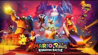 JUGANDO CON UN YOUTUBER A MARIO RABBIDS + KINGDOM BATTLE ! :3 ( COOP GAMEPLAY NINTENDO SWITCH )