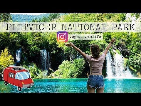 Vegan Vanlife Vlog #1 - Plitvicer National Park - Start the vantour with stunning waterfalls