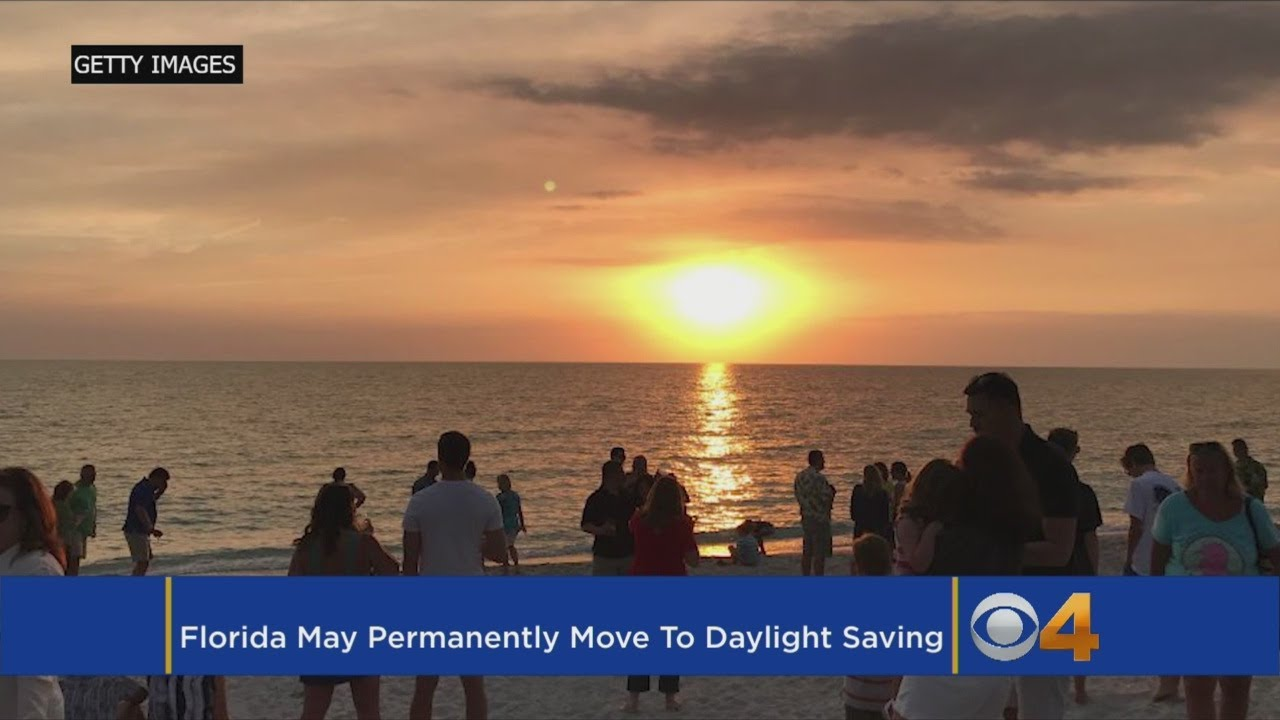 Florida Votes To 'Spring Forward' And Leave Eastern Time Zone
