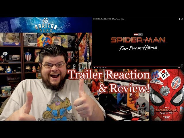 Spider-Man: Far From Home - Teaser Trailer Reaction Review!