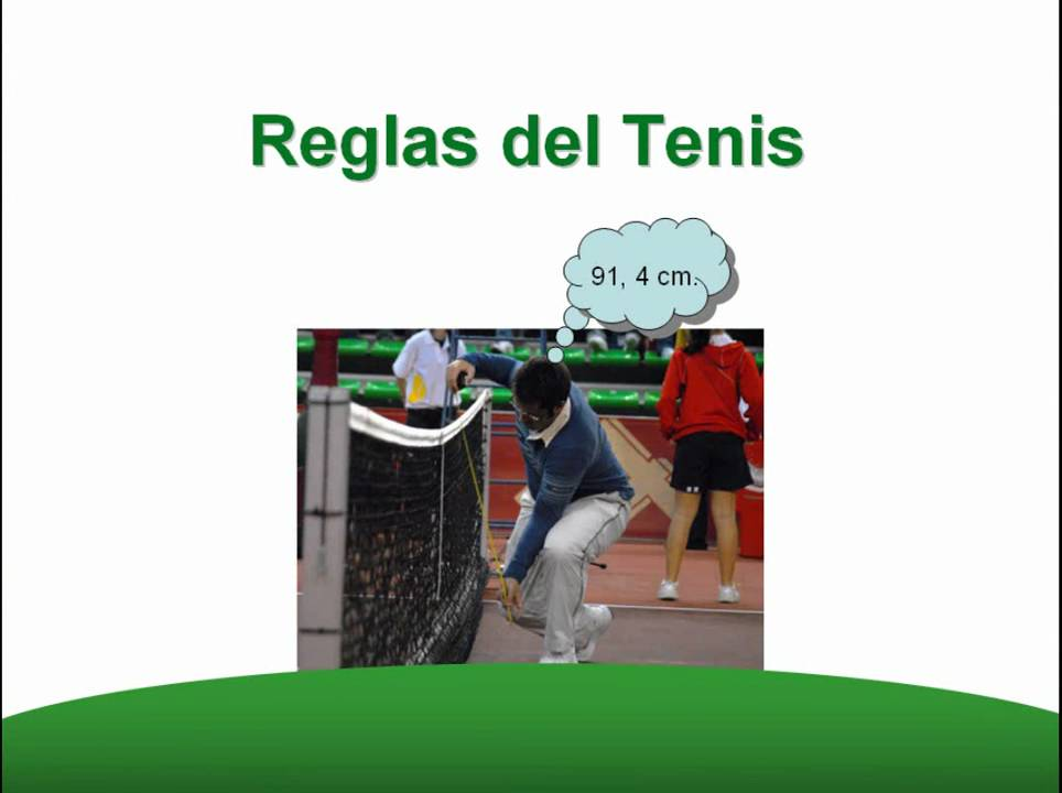 T. 3  Reglas de Tenis