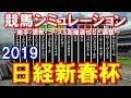 【競馬】日経新春杯2019 競馬シミュレーション by StarHorsePocket(SEGA)