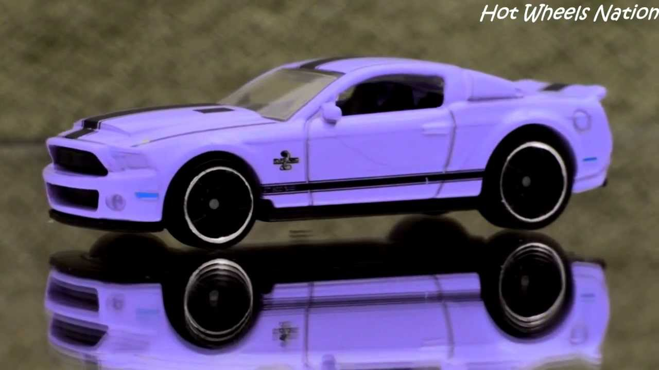 Color Changing Hot Wheels 10 Ford Shelby GT500 Super