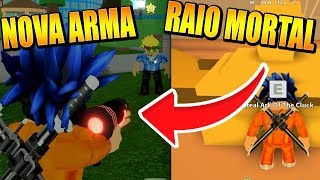 HOW TO GET DEATH RAY IN THE MAD CITY OF THE NEW UPDATE! -ROBLOX