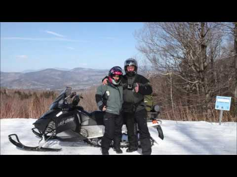 Snowmobiling North Conway, New Hampshire