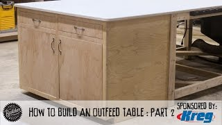 How To Make A Tablesaw Outfeed Table - Part 2 thumbnail