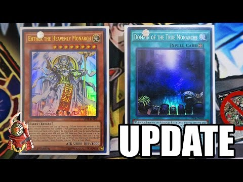 [UPDATE] *YUGIOH* BEST! MONARCH DECK PROFILE! DOMAIN STILL STRONG! EXPLAINED! ANTI-META (March 2017)