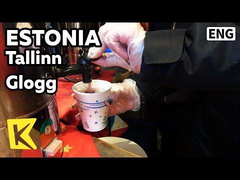 【K】Estonia Travel-Tallinn[에스토니아 여행-탈린]전통음료 글뤼그/Glogg/Christmas Market/Square/Town Hall