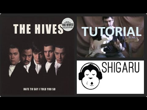 How to play 'Hate to Say I Told You So' by The Hives ...