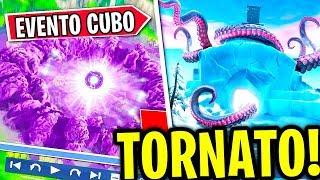 ⚠️ EVENTO CUBO KEVIN in ARRIVO 🐙 Octopus GIGANTE? - MISTERI di Fortnite ITA