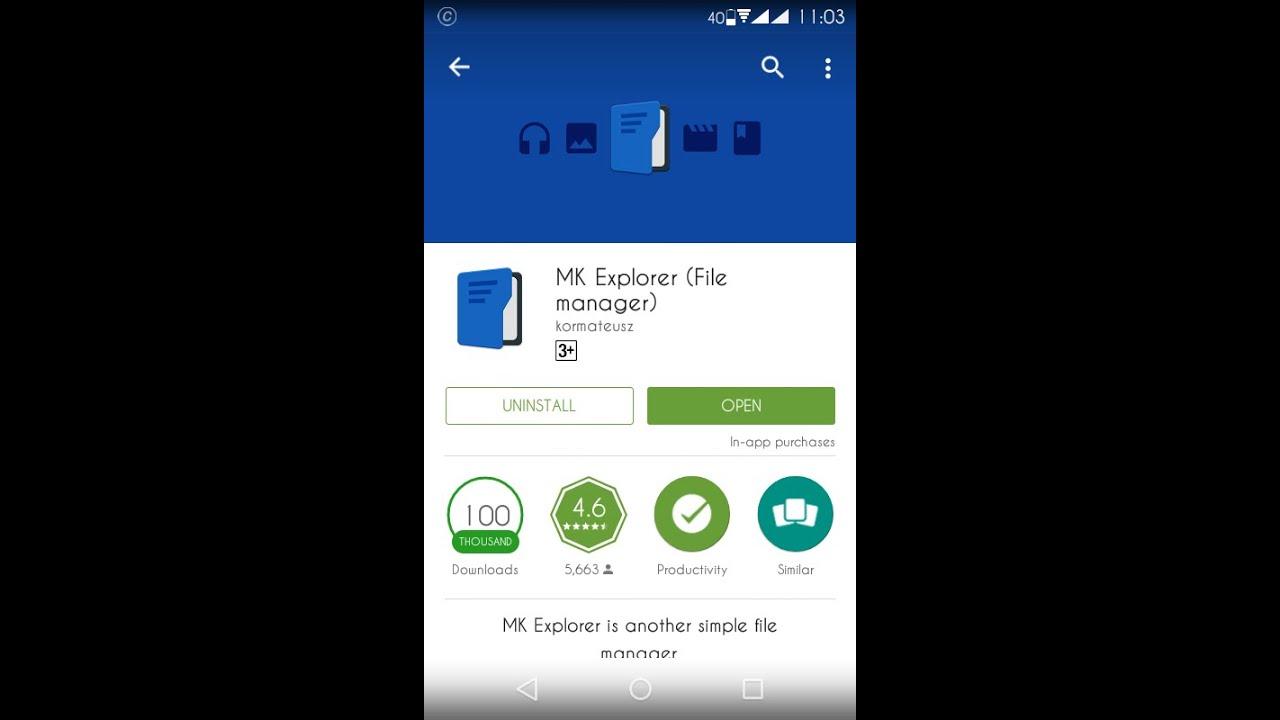 File Explorer  MK File explorer   best android file manager app