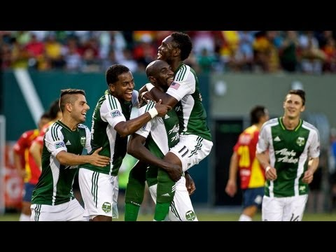 Copa Verde Highlights; Timbers 1, Morelia 0
