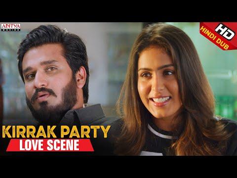 Samyuktha Hegde Nikhil Love Scene | Kirrak Party Scenes | Nikhil Siddharth, Simran Pareenja,