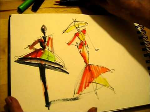 The 2 Minute Fashion Sketch