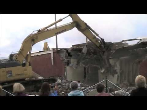 Demolition of Moorefield High School