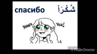 Египетский диалект арабского языка (2-ой урок)