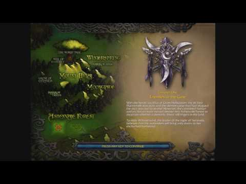 How The Night Elves Joined The Alliance - Warcraft Lore